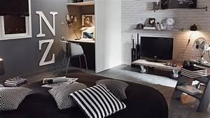 Chambre Deco Industrielle : astuces d co chambre ado industrielle ~ Zukunftsfamilie.com Idées de Décoration