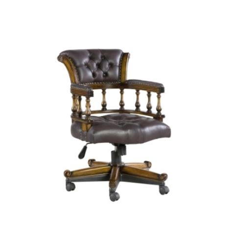 captains leather chair chairs office furniture