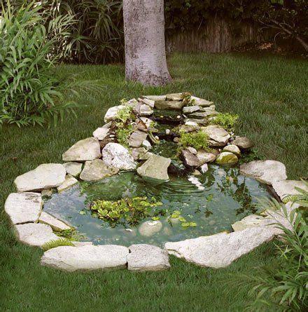 Backyard Pond Kits - pond kit w 3 tier cascade 3 x 4 by drs foster smith
