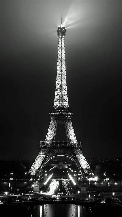 Paris Tower Romantic Eiffel Night Iphone Wallpapers