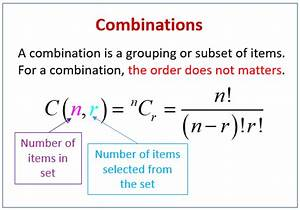 combinations, , examples, , solutions, , videos, , worksheets, , games, , activities
