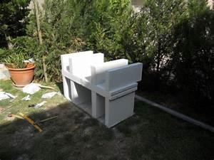 Construire Barbecue Beton Cellulaire : barbecue en b ton cellulaire piscines plages ~ Dailycaller-alerts.com Idées de Décoration