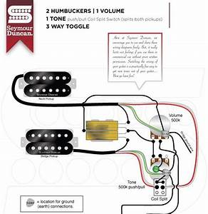 Les Paul Wiring Diagram Seymour Duncan