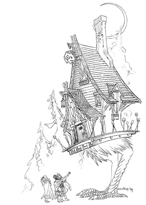 sketchbooks  charles vess coloring book signed