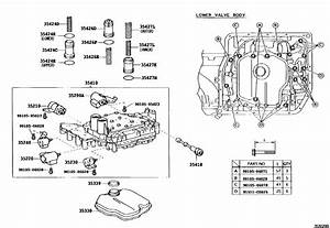 A540e Valve Body Diagram