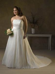 Amazing wedding dresses for plus size ladies weddings eve for Plus sized wedding dresses