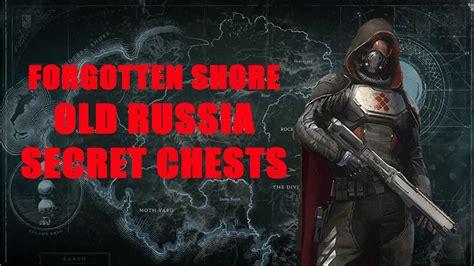Forgotten Shore,old Russia Secret Chests