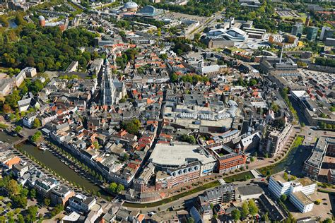 aerial view | Historical city center of Breda, North ...
