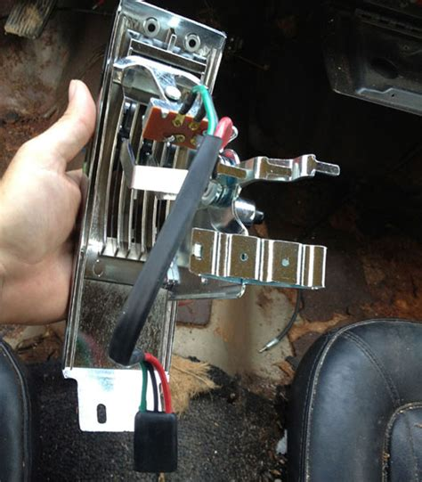 mustang heater control panel assembly  installation