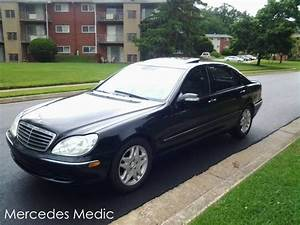 How To Replace Low Beam Headlight Bulbs W220 S430 S500 Cl500  U2013 Mb Medic