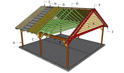 build  double carport howtospecialist