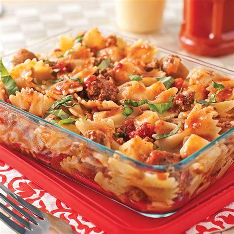recette pate avec saucisse italienne sauce italienne 224 la chair de saucisse recettes cuisine et nutrition pratico pratique