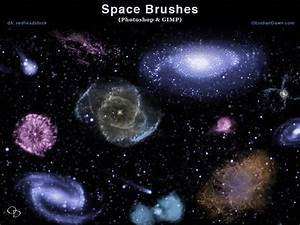 Space Photoshop and GIMP Brushes by redheadstock on DeviantArt