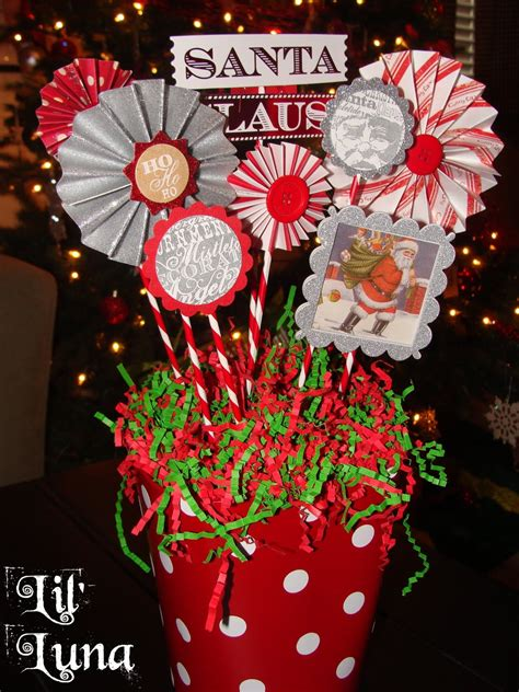 deck the holiday s diy christmas paper centerpiece
