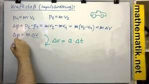 Zeit Berechnen Physik : der kraftsto physik youtube ~ Themetempest.com Abrechnung