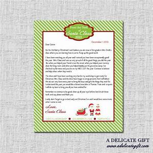 personalized letter from santa printable With personalised santa letter printable