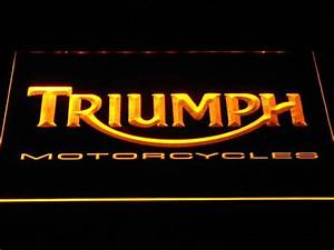 Triumph Motorcycles LED Neon Sign