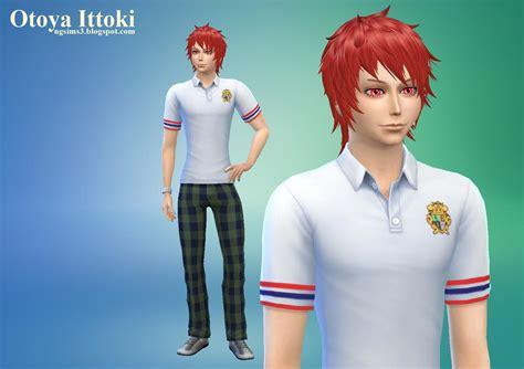 Ng Sims 3 Otoya Ittoki Uta Noprince Sama♪ Ts4 Sims