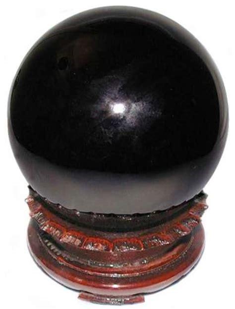 black obsidian sphere 200mm or 8 quot obsidian