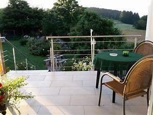 ferienwohnung am ganseweg saarland bliesgau frau With französischer balkon mit treppe für garten
