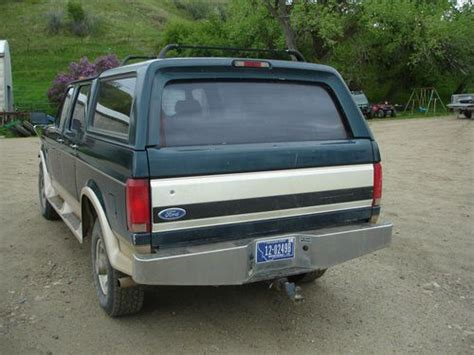 Centurion Bronco History by Sell Used 1996 Ford F 250 Centurion Bronco In Havre