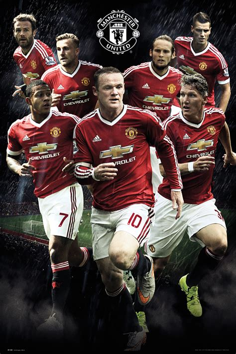 Trent's dominant display against man utd at old trafford. Manchester United Players Official Soccer Poster 2015/16 ...