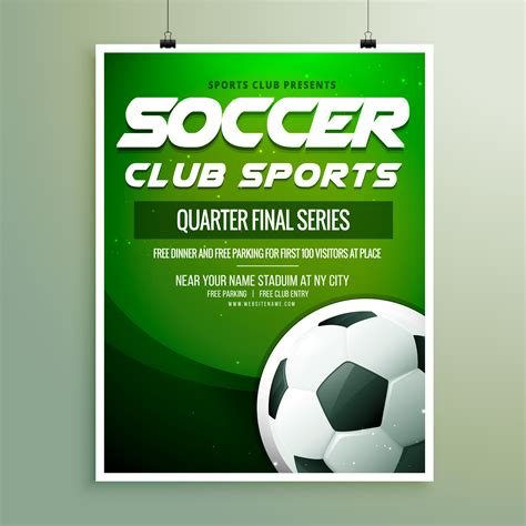 download game world template soccer club sports chionship flyer template download