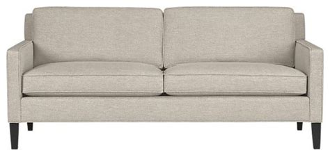 Vaughn Apartment Sofa vaughn apartment sofa crate barrel contemporary