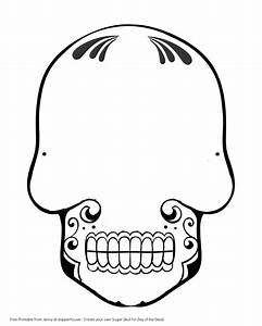 Free Printable Create A Sugar Skull For Day Of The Dead
