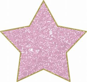 Pink Star with Gold Trim PNG by clipartcotttage on DeviantArt