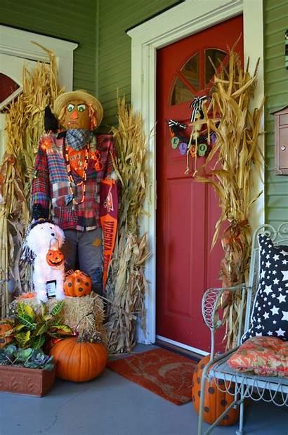 Halloween Decorations Porch Fall Silahsilah Decorazioni Elettrizzanti