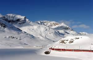 Switzerland Alps Train Routes