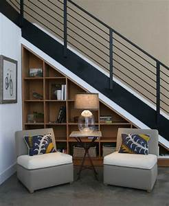 modern storage ideas for small spaces staircase design With interior design ideas space under stairs