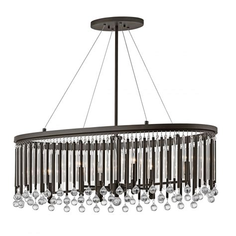 Oval Chandelier by Modern Dining Table Island Chandelier With Glass