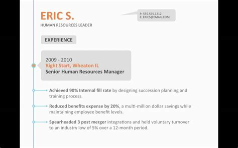 Resume Timeline Website by Powerpoint Template Dynamic Timeline Resume Cv