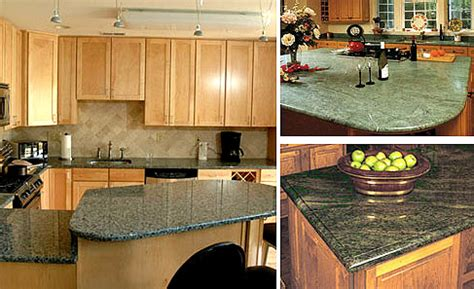 green granite kitchen countertops izbor zelenih materijala pri renoviranju kuhinje 3991
