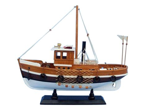 Model Boat Knots buy wooden knot working model fishing boat 16 inch model
