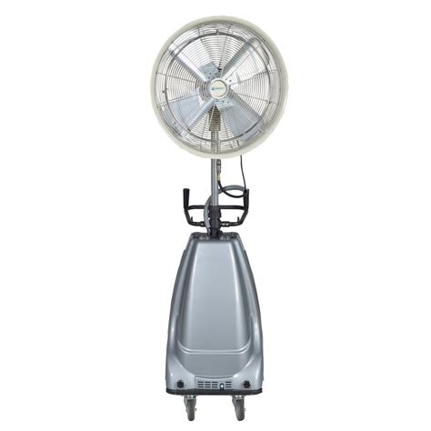 high pressure misting fan 24 in 3 speed portable and oscillating high pressure
