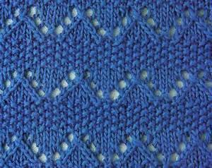 Diamond Chart Zig Zag And Moss Knitting Stitch Knitting Kingdom