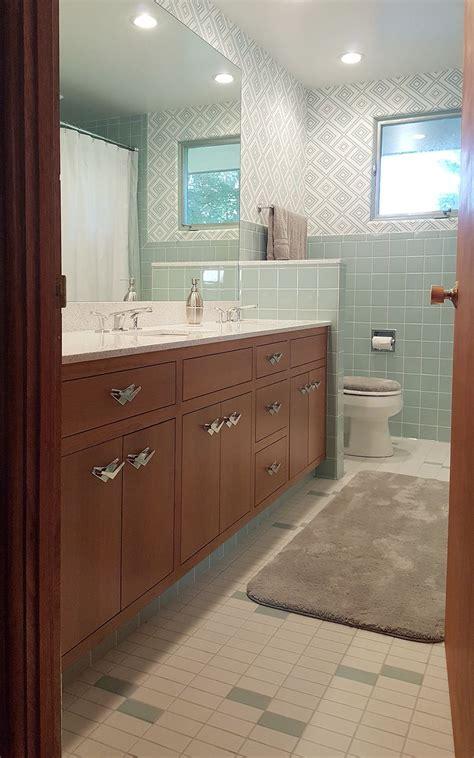blue bathroom    house