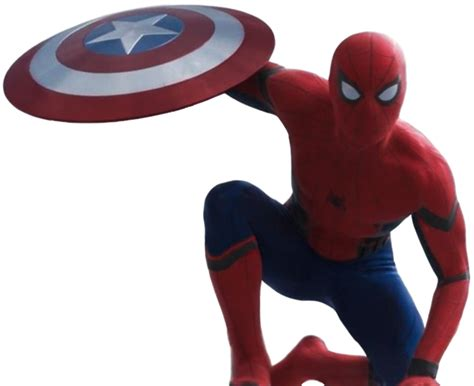 Captain America Civil War Spiderman Wallpaper Civil War Spider Man Transparent Background By Camo