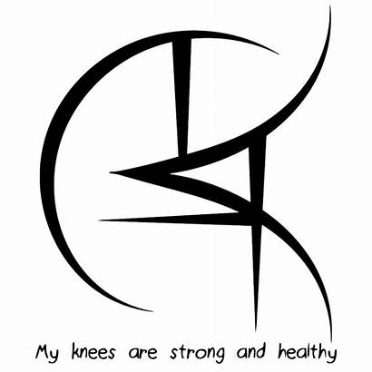 Sigil Strong Knees Symbols Magic Angelic Healing