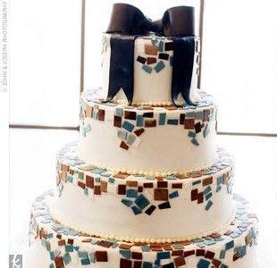 mosaic wedding cake  butterfly cakes incredible edible