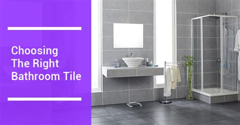 17736 choosing bathroom floor tile how to choose the right tile for your bathroom avonlea 17736