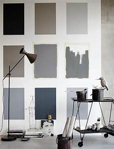 Schöner Wohnen Wandfarbe : graue farbfamilie bild 16 in 2019 farben und tapeten ~ Watch28wear.com Haus und Dekorationen