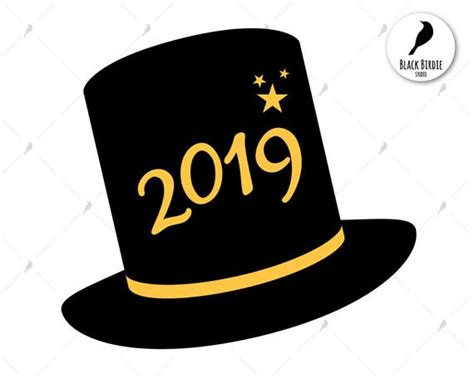 New Year 2019 Svg Happy New Year Svg Happy 2019 Clipart