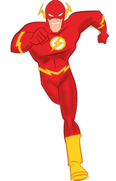 Flash Superhero Clipart