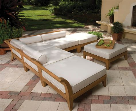 Outdoor Pool Furniture by Wooden Outdoor Pool Furniture Pool Design Ideas
