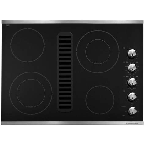downdraft electric cooktop remodeling 101 nearly invisible downdraft kitchen vents