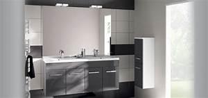 Porte Meuble Salle De Bain : meuble de salle de bain prefixe portes aquarine pro ~ Teatrodelosmanantiales.com Idées de Décoration